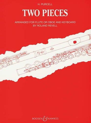 2 Pieces - Flute or oboe piano - PURCELL - laflutedepan.com