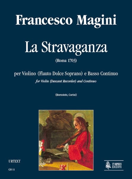 La Stravaganza - Francesco Magini - Partition - laflutedepan.com