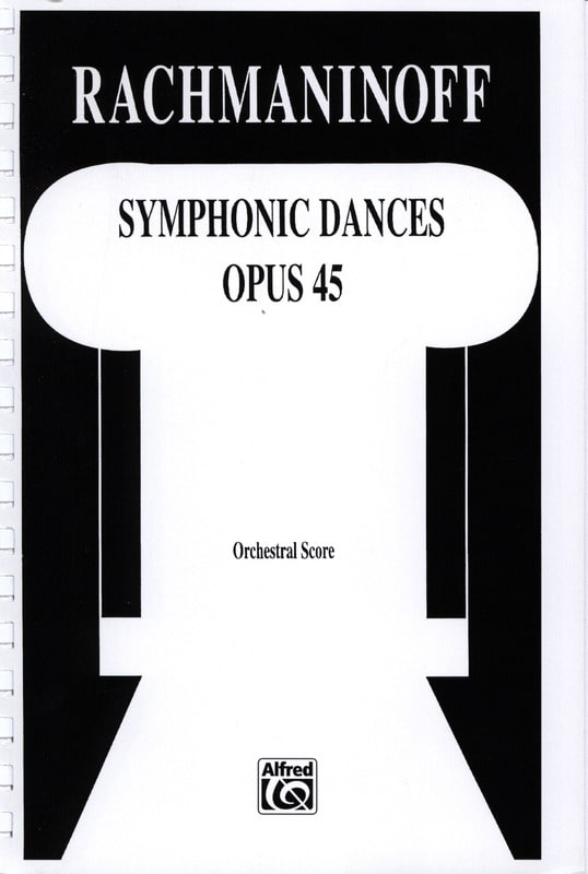RACHMANINOV - Symphonic dances - Score - Partition - di-arezzo.com