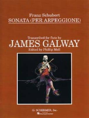 SCHUBERT - Sonata Arpeggione - Flauta Piano - Partition - di-arezzo.es