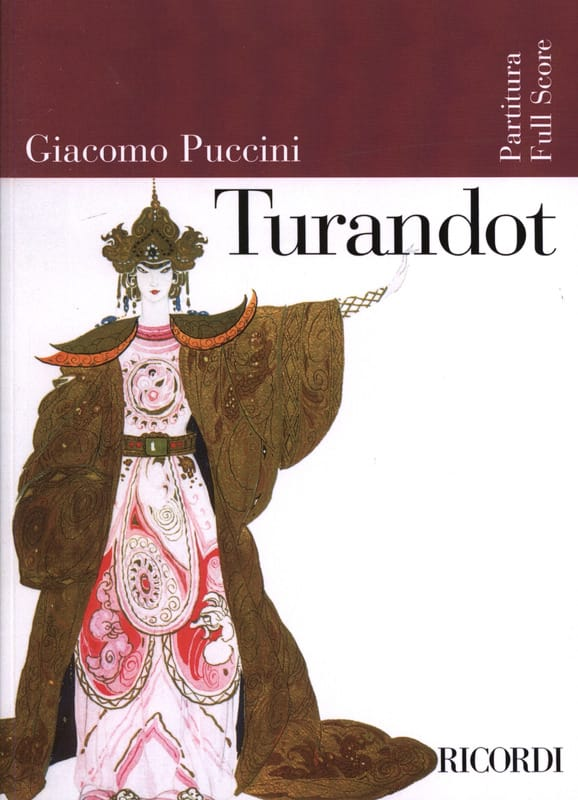 Giacomo Puccini - Turandot new edition - Score - Partition - di-arezzo.co.uk
