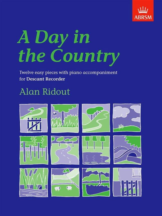 A day in the country - Alan Ridout - Partition - laflutedepan.com