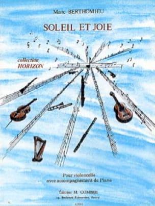 Soleil et joie - Marc Berthomieu - Partition - laflutedepan.com