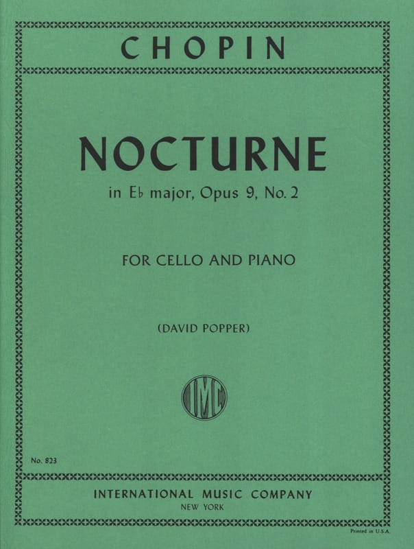 Nocturne in E b major, op. 9 n° 2 - CHOPIN - laflutedepan.com