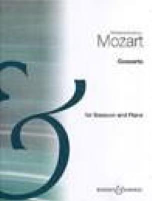 MOZART - Concierto KV 191 - Fagot piano - Partition - di-arezzo.es