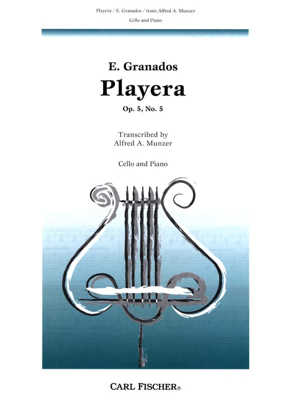 Enrique Granados - Playera op. 5 n ° 5 - Partition - di-arezzo.co.uk