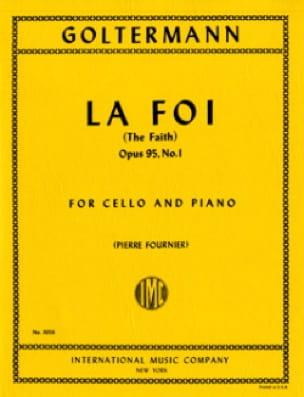 La Foi op. 95 n° 1 - Georg Goltermann - Partition - laflutedepan.com