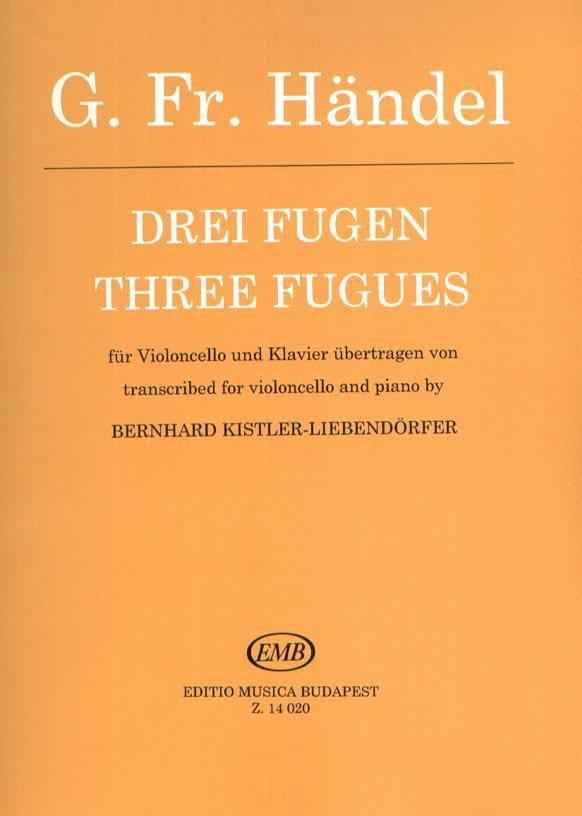 HAENDEL - 3 Fugen - Partition - di-arezzo.com