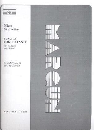 Sonata concertante - Nikos Skalkottas - Partition - laflutedepan.com