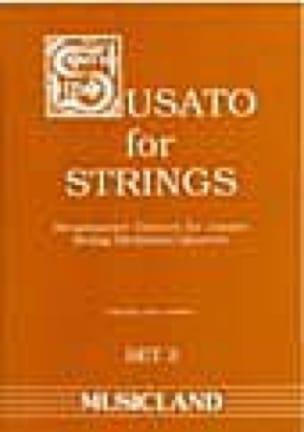 Susato for Strings - Set 3 - String orch. / quartet - laflutedepan.com