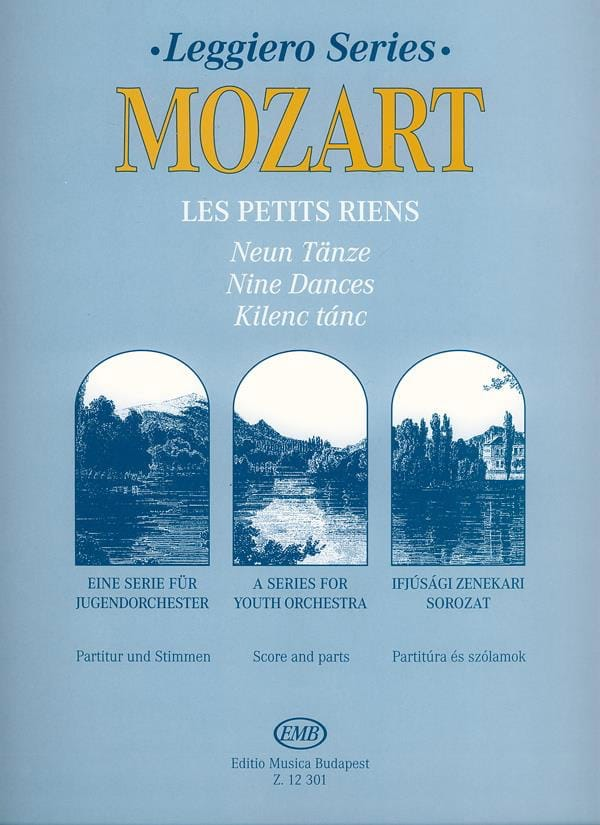MOZART - Little things - Orch. junior - Partition - di-arezzo.co.uk