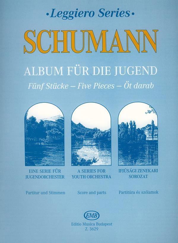 Album für die Jugend, 5 Stücke - String orch. junior - laflutedepan.com
