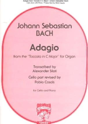 BACH - Adagio - Partition - di-arezzo.com