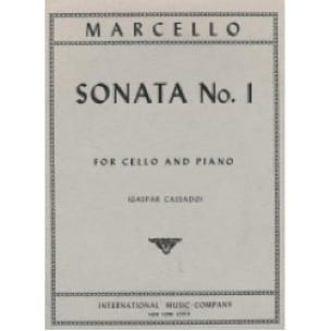 Benedetto Marcello - Sonata n ° 1 - Partition - di-arezzo.co.uk