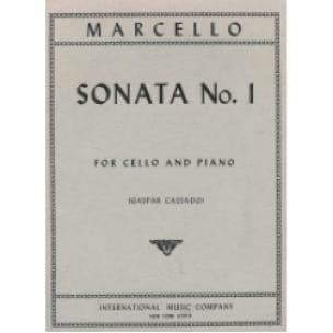 Sonate n° 1 - Benedetto Marcello - Partition - laflutedepan.com