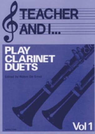 Teacher and I ... Vol 1 - Play clarinet duets - laflutedepan.com