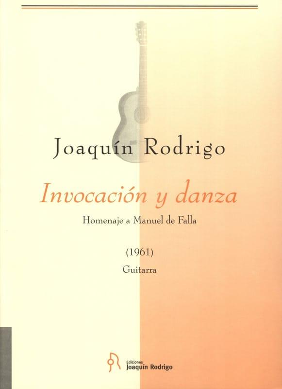 Invocacion y Danza - RODRIGO - Partition - Guitare - laflutedepan.com