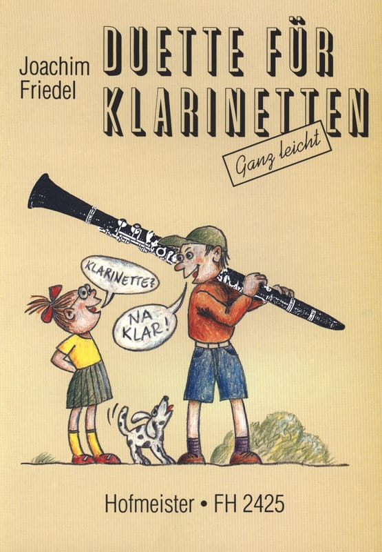 Duette für Klarinetten - Partition - Clarinette - laflutedepan.com