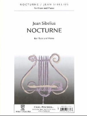 Nocturne - Flûte piano - SIBELIUS - Partition - laflutedepan.com