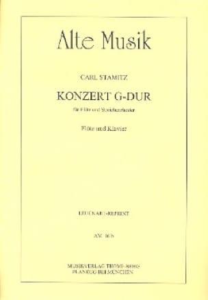 Carl Stamitz - Konzert G-Dur - Flöte Klavier - Partition - di-arezzo.com