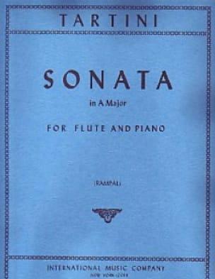 Sonata in A major - Flute piano - TARTINI - laflutedepan.com