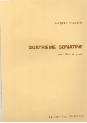 4ème Sonatine - Flûte piano - Jacques Vallier - laflutedepan.com