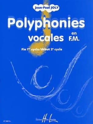 Polyphonies vocales en FM - Jean-Paul Joly - laflutedepan.com