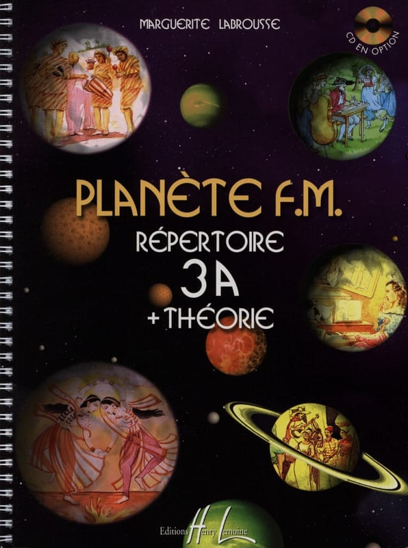 Marguerite Labrousse - Planet FM 3A - Theory Directory - Partition - di-arezzo.co.uk