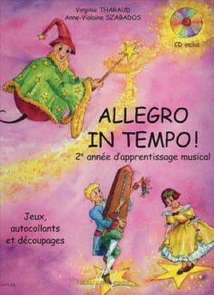 Virgine THARAUD et Anne-Violaine SZABADOS - Allegro in Tempo - Partition - di-arezzo.co.uk