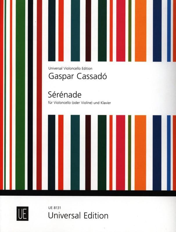 Gaspar Cassado - Ständchen - Partition - di-arezzo.de