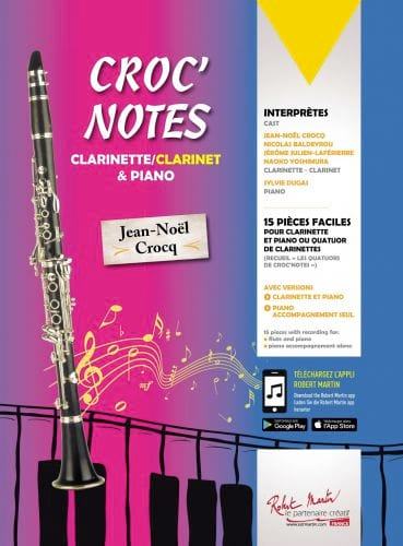 Croc' Notes - Jean-Noël Crocq - Partition - laflutedepan.com