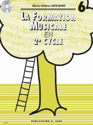 SICILIANO - Musical Training in 2nd Cycle - Volume 6 - Partition - di-arezzo.co.uk