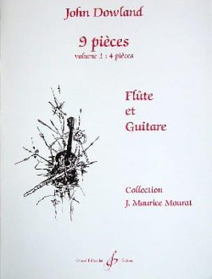 9 Pièces - Volume 1 - Flûte guitare - DOWLAND - laflutedepan.com