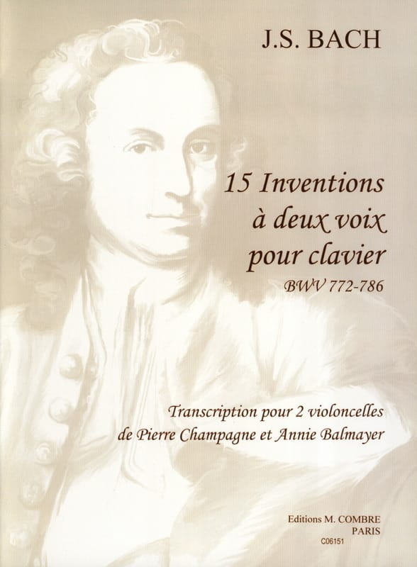 BACH - 15 Inventions with two voices - Partition - di-arezzo.co.uk