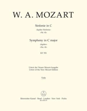 Symphonie Nr. 41 C-Dur KV 551 Jupiter - Matériel Complet - laflutedepan.com