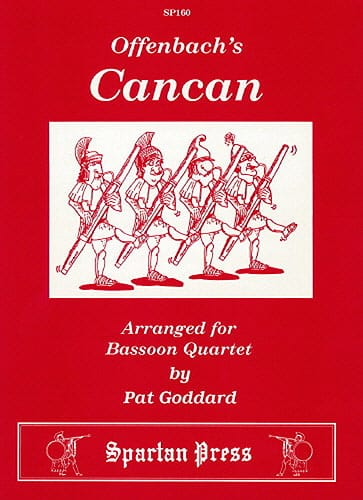 The Cancan - OFFENBACH - Partition - Basson - laflutedepan.com