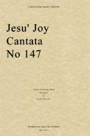 Jesu' Joy, Cantata N° 147 - String Quartet - Score + Parts - laflutedepan.com