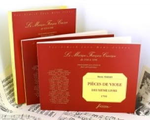 Marin Marais - Pieces of Viola - Second Book - Partition - di-arezzo.co.uk