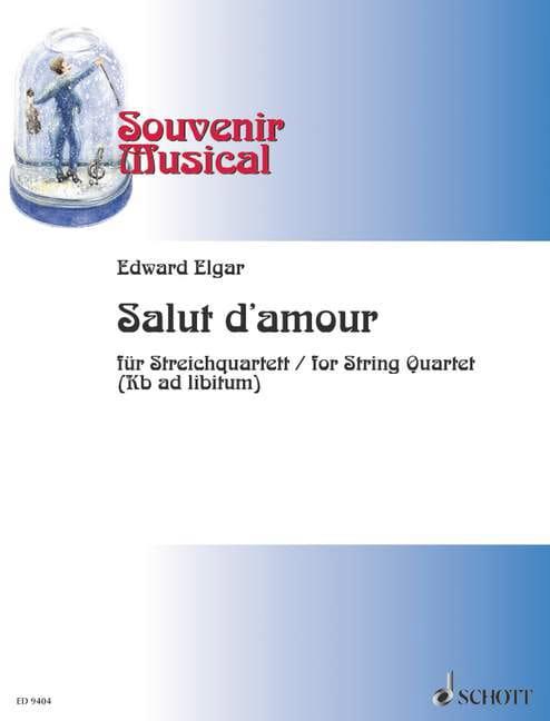 ELGAR - Hi love op. 12 - String quartet - Partition - di-arezzo.com