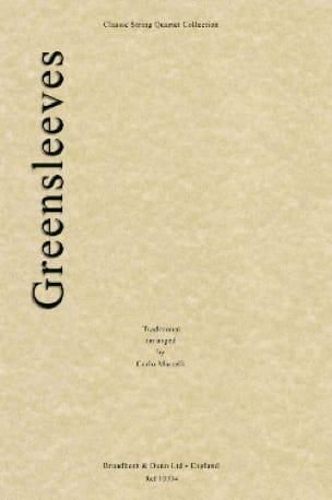 Greensleeves - String quartet - Carlo Martelli - laflutedepan.com