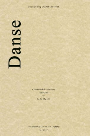 DEBUSSY - Dance - String quartet - Partition - di-arezzo.co.uk