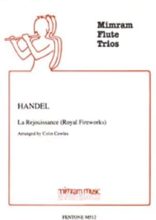 La Réjouissance Royal Fireworks - 3 Flutes - laflutedepan.com