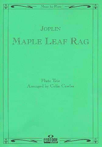 Maple Leaf Rag - Flute Trio - JOPLIN - Partition - laflutedepan.com