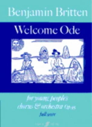 Welcome Ode Op. 95 - Young People's Chorus And Orchestra - laflutedepan.com