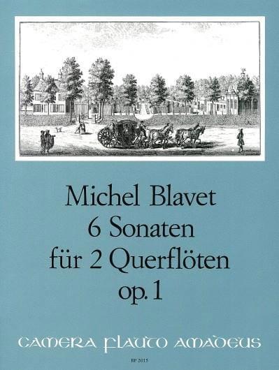 6 Sonaten op. 1 - 2 Flöten - Michel Blavet - laflutedepan.com