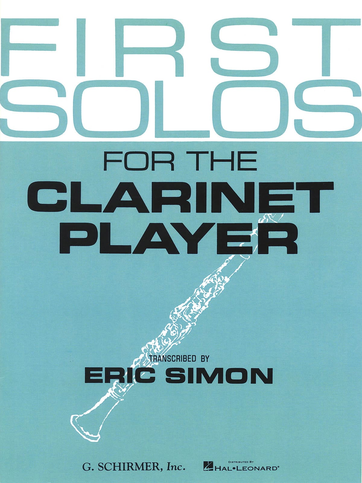 First Solos for the clarinet player - Eric Simon - laflutedepan.com