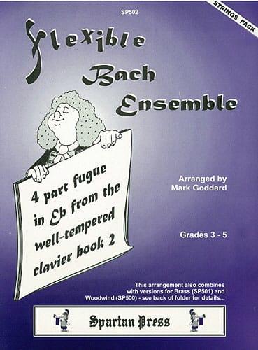 4 Part fugue in Eb major - String ensemble - laflutedepan.com