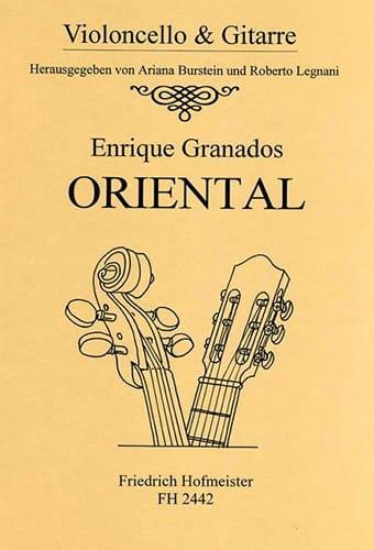 Oriental - GRANADOS - Partition - 0 - laflutedepan.com