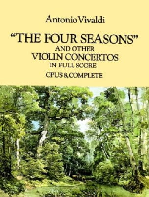 VIVALDI - The Four Seasons and other Violin Concertos - Partition - di-arezzo.co.uk