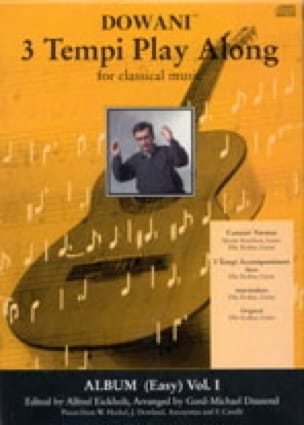 Easy Album Volume 1 / CD - Partition - laflutedepan.com